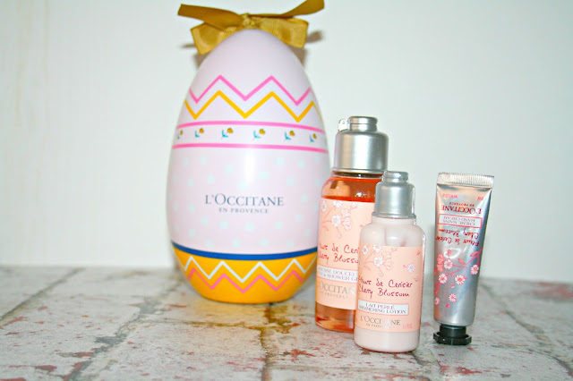 L'Occitane Cherry Blossom Easter Egg Contents