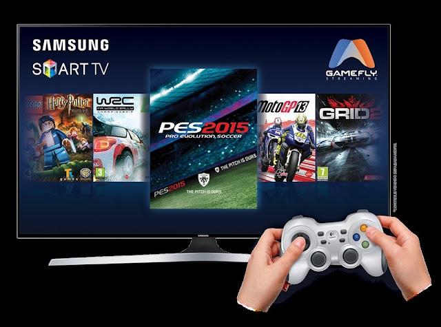 Smart Tv da Samsung trás um novo pacote de games para suas Tvs