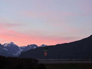 Seward Highway- dawn