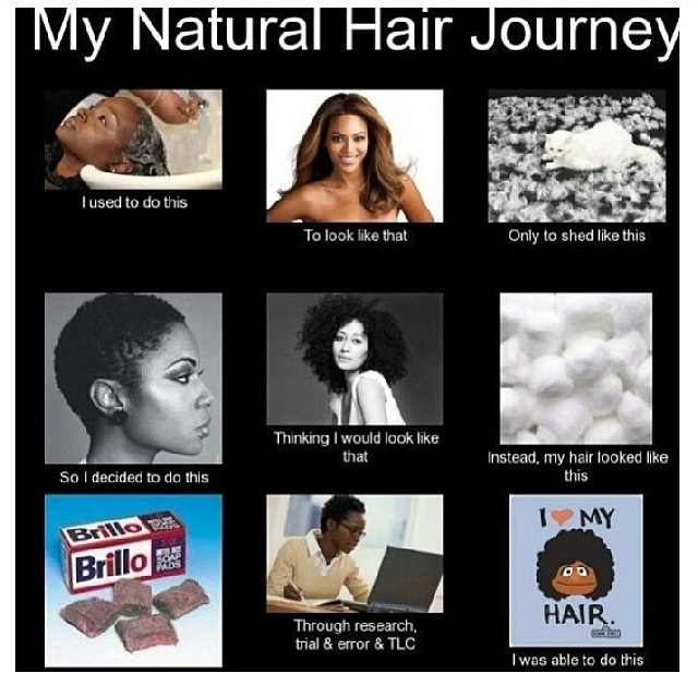 Strange Dark Girls Nappy Hair Nuances Of Self Hate Curlynikki Hairstyles For Women Draintrainus