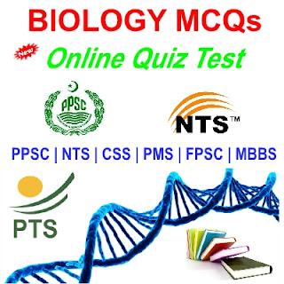 Solved MCQs Biology Tests Preparations