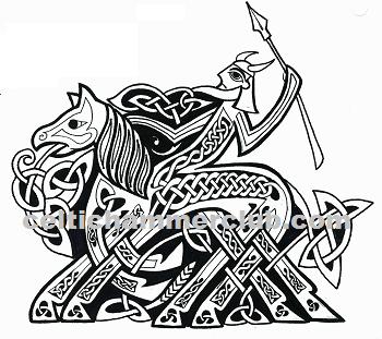 Celtic Hammer Club Celtic Norse Art