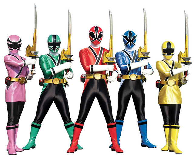 Imprimir Dibujos: Personajes De Power Rangers Samurai Para