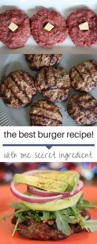 The Best Burger Recípe
