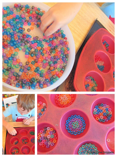Melted Bead Sun Catcher Craft
