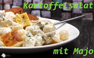 Zum Wochenende versorgen wir Euch mit einer großen Portion Kartoffelsalat mit selbstgemachter, weißer Majo (die sieht fast ein Bisschen aus wie die bekannte aus dem Glas).   Und warum dieses Gericht Verbot für den Kartoffeldienstag hat, könnt Ihr hier lesen! SCHÖNES WOCHENENDE!!! Rezept: http://www.amor-und-kartoffelsack.de/