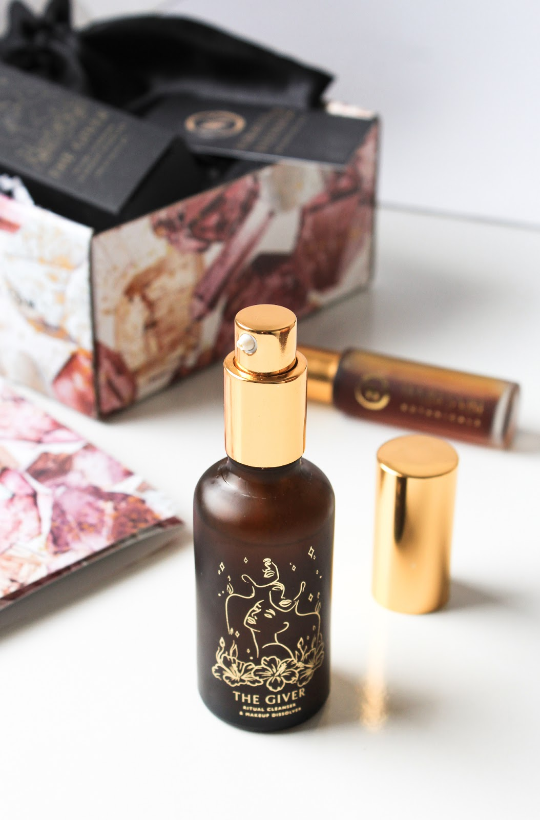 April Clean Beauty Box BALANCE Wabi-Sabi Botanicals The Giver Illuminative Ritual Cleanser