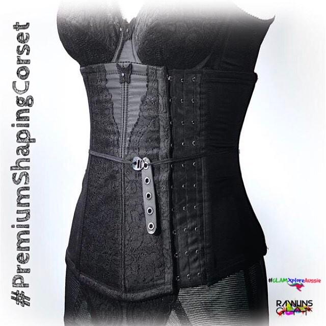 premium beautiful corset, why wear corset, korset untuk kesihatan, health benefits of corset, menstrual, abdominal hernias, weight loss, Merawat Slipped Disc, byrawlins, Hanis Haizi Protege,