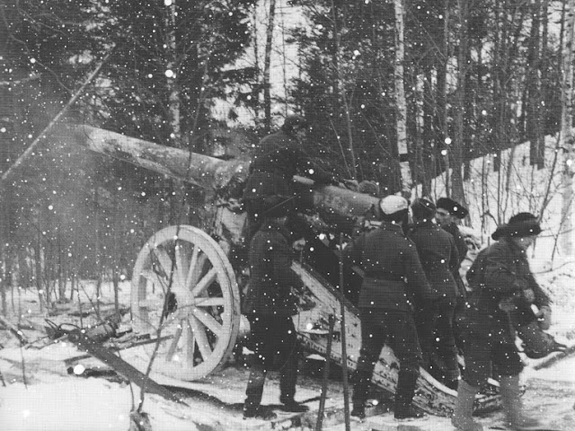 30 January 1940 worldwartwo.filminspector.com Soviet artillery Winter War