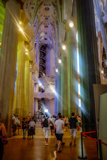 Visiting La Sagrada, Barcelona, Mandy Charlton, photographer, writer, blogger
