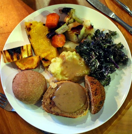 Thanksgiving in pictures: my 100% vegan Thanksgiving dinner