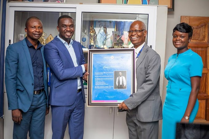 Pentecost University College Honours Gospel singer Joe Mettle