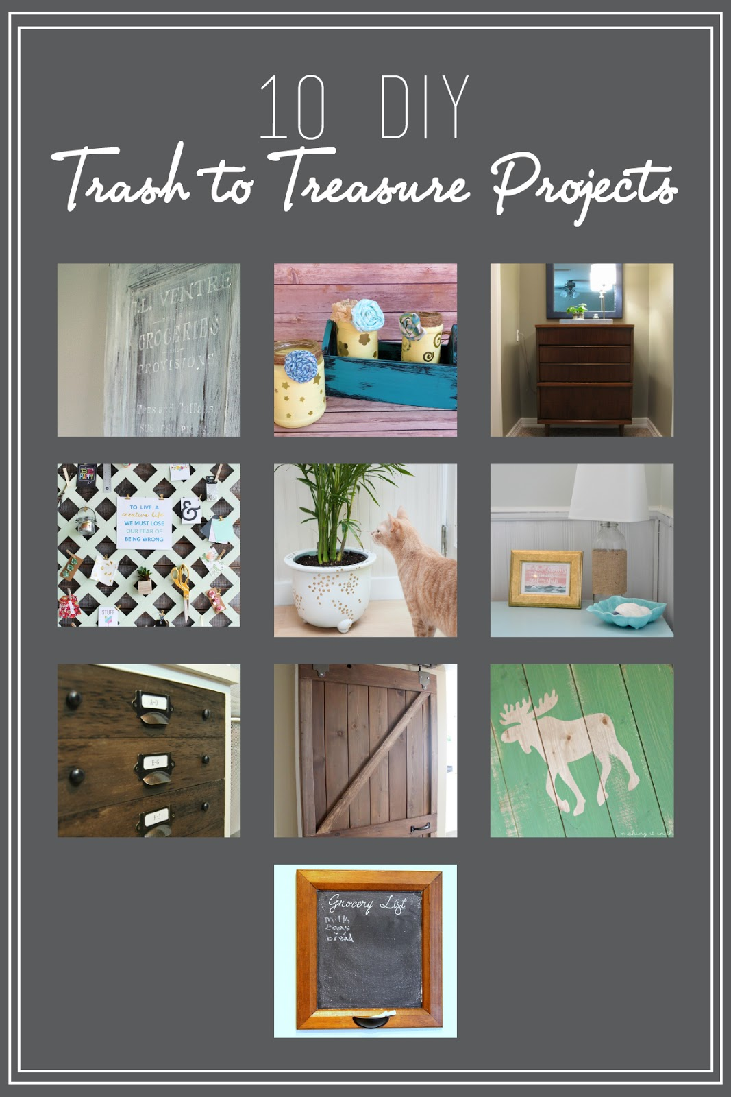 May Monthly Challenge Repurposed Cabinet Doors The Inspired Hive