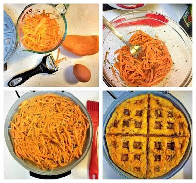 Process to makeTasty Sweet Potato Waffle (Paleo, Gluten-Free, Keto, Whole30, Grain-Free, Refined Sugar-free).jpg