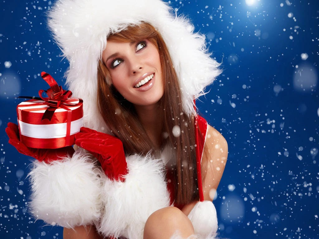 Merry Christmas Hot Girls, Models HD Wallpapers, Pictures ...