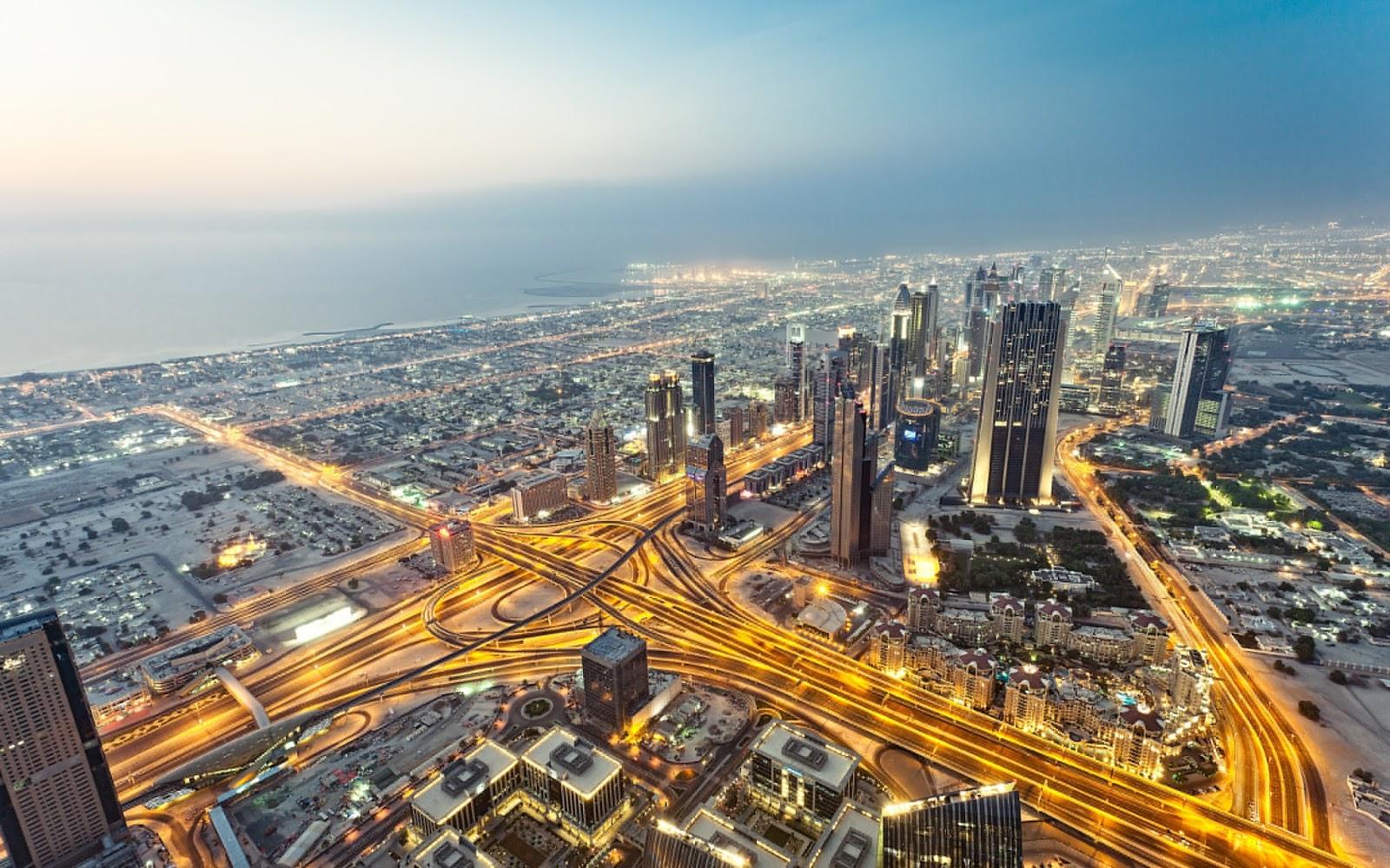 View From Burj Khalifa Dubai Magazine ...