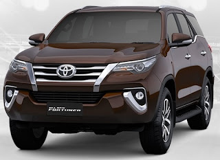 Harga Pontianak Toyota Fortuner Brown Metallic