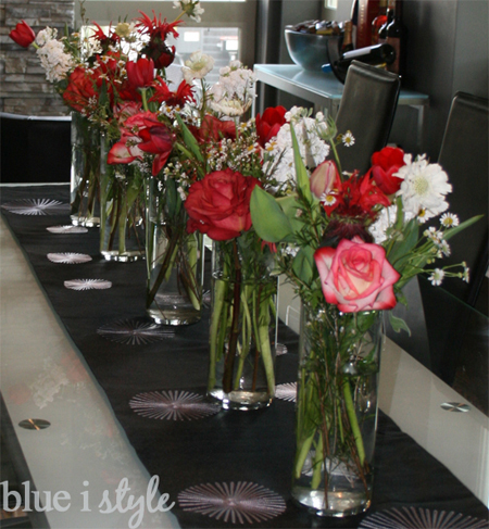 Entertaining With Style Arranging Flowers In Outdoor Lanterns