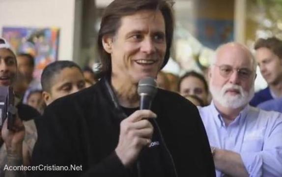 Actor Jim Carrey predica de la Salvación en Jesús
