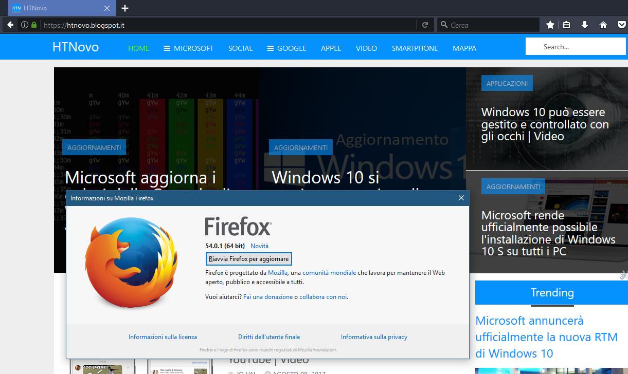 Firefox-Riavvia