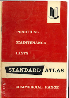 Standard Atlas Commercial Vehicle Practical Maintenance Hints Book cover