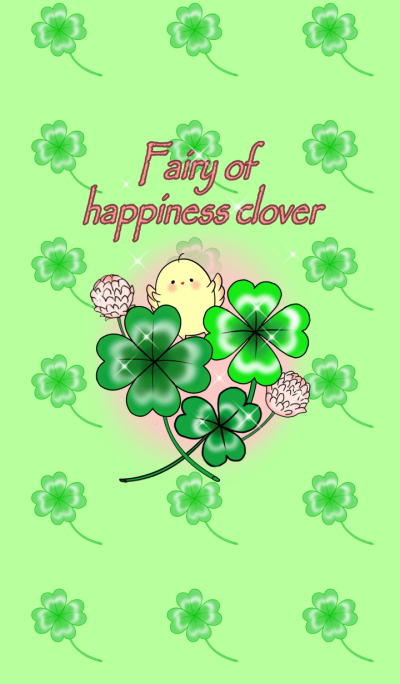 Fairy of happiness clover