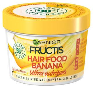 Mascarilla Fructis Hair Food banana