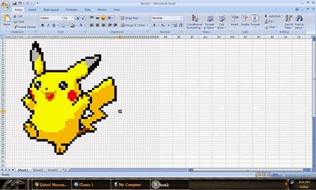Pikachu - Excel