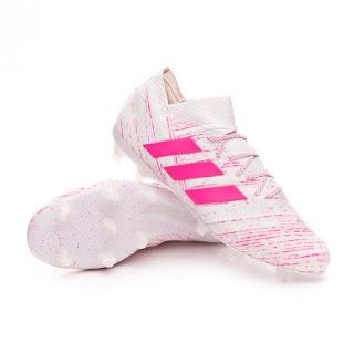 ADIDAS NEMEZIZ 18.1 FG White-Shock pink