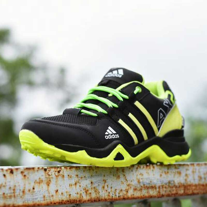 Sepatu Adidas Ax2 Hitam Hijau 8