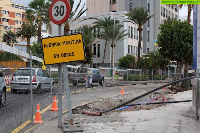 La Avenida Marítima permanecerá cerrada mañana de 7:30 a 18:00 horas