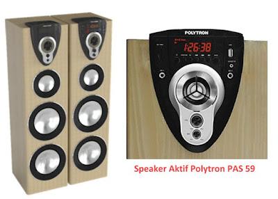 Harga Speaker Aktif Polytron PAS 59 Bluetooth