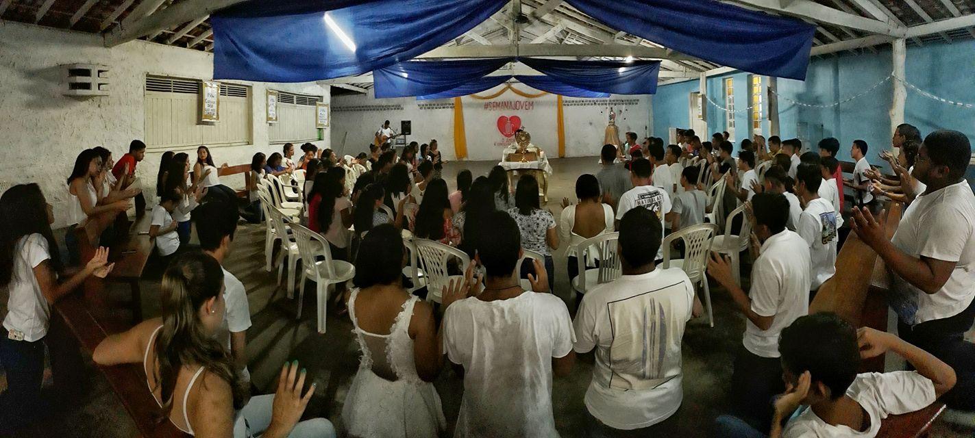 semana jovem paróquia de benfica benevides pará