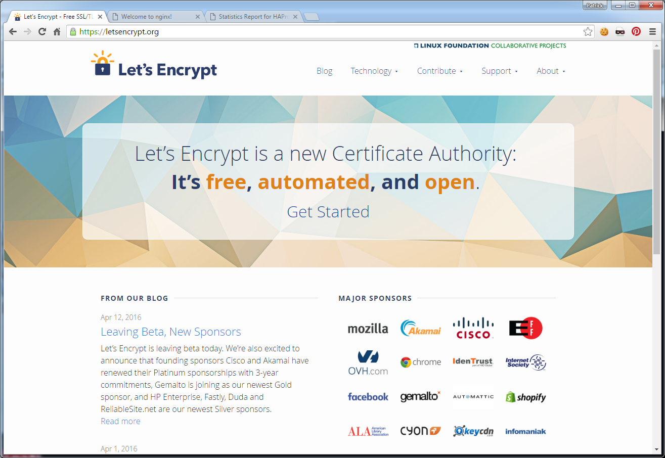 Whiteboard coder lets encrypt haproxy lets encrypt 1betcityfo Images