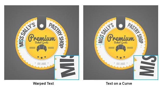 Cara Membuat Teks Lengkung di Photoshop 2