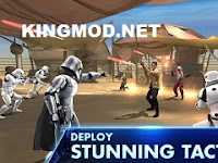 Star Wars Galaxy of Heroes MOD God Mode 0.5.149973 APK Non Rooted terbaru