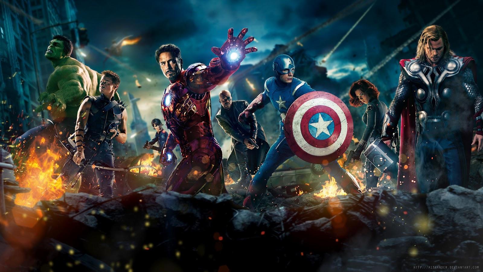Hd Wallon 1920x1080 Hd Wallpaper Avengers