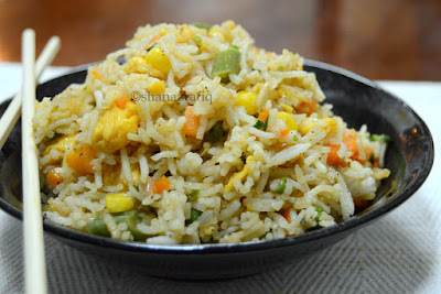 Egg & Vegetable Fried Rice
