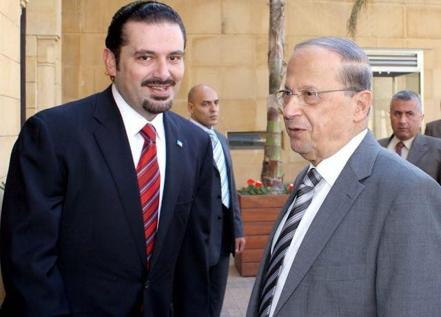 سعد-الحريري-ميشيل-عون