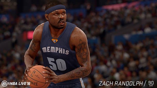 NBA Live 16 Zach Randolph