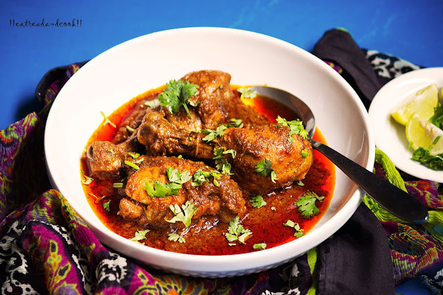how to make Malwani Chicken Sukka recipe and preparation with step by step pictures