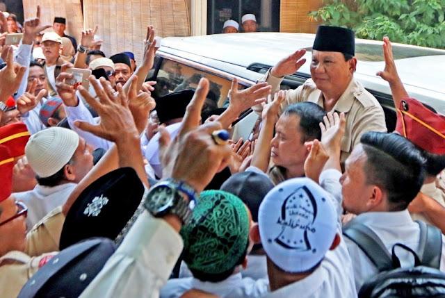 Prabowo: Ya Allah, Beri Saya Kekuatan untuk Membela Rakyat