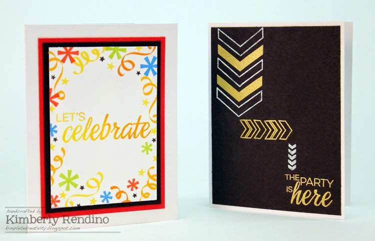 Fiesta cards by Kimberly Rendino | Winnie & Walter | kimpletekreativity.blogspot.com