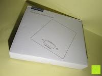 Verpackung: DBPOWER® Digitale Küchenwaage, Multifunktionsküche-Nahrungsmittelskala Messen, 11 £ / 5kg High Precision Berührungsbildschirm, Hartglas, Weiß