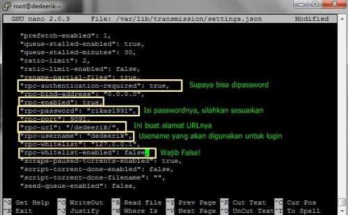 Cara Install Script Torrent Leech