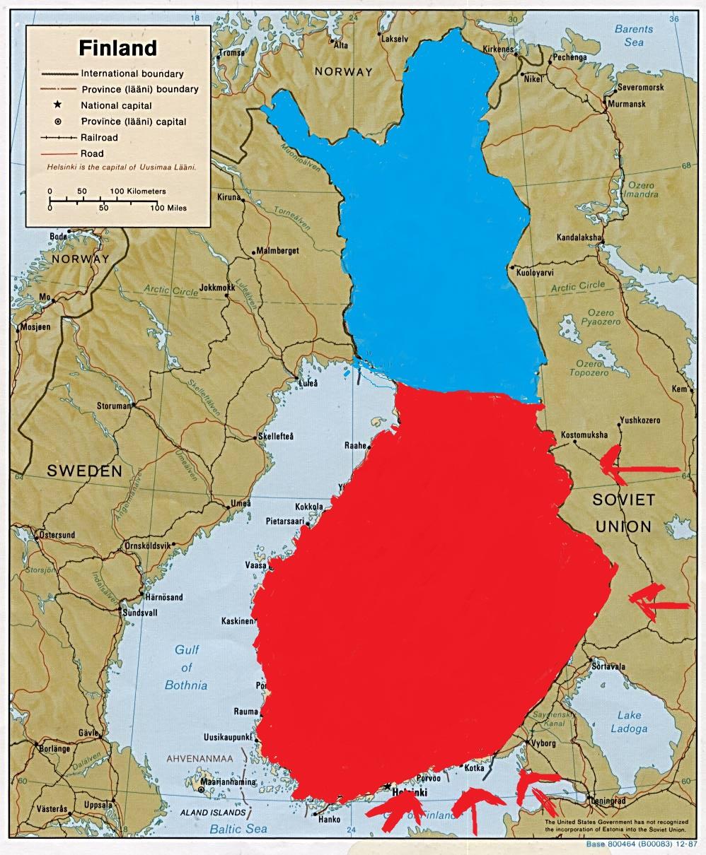 Selvanakija Finland Divided Or Not
