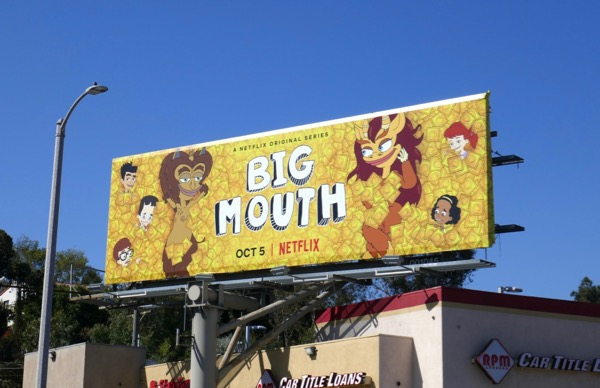 Big Mouth season 2 billboard