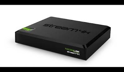 Tocomlink Stream 4k lançamento