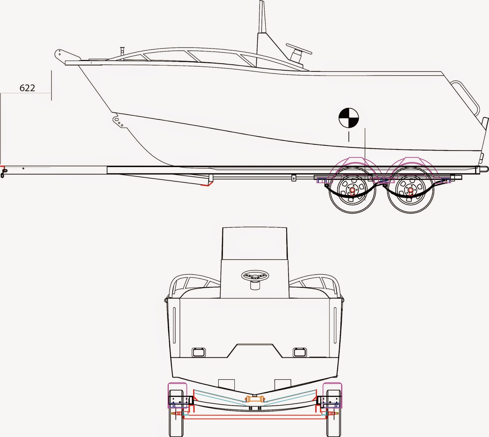 CNC Marine 5m (5.75 Overall) Plate Boat Build: September 2014