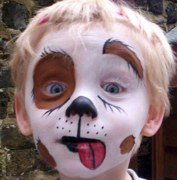 Bow Bow Kitten Halloween Makeup Idea